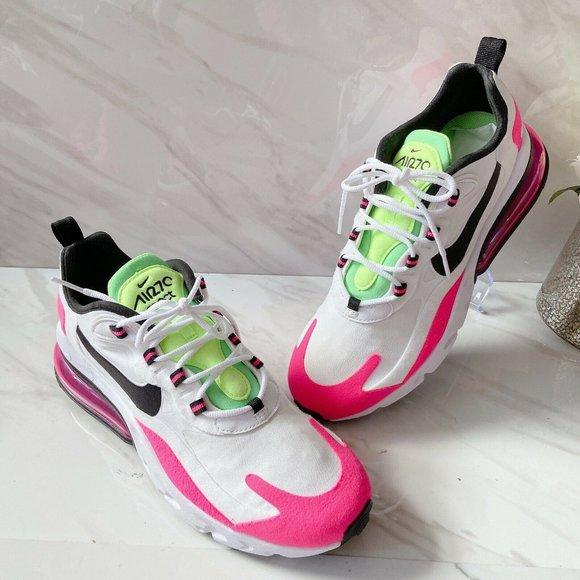 air max 270 white green pink
